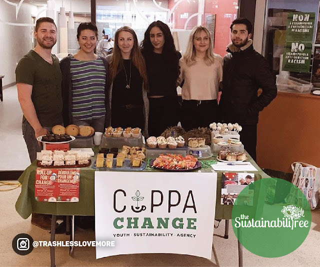 uOttawa's Cuppa Change group bake sale