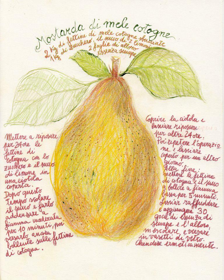 Aaa accademia affamati affannati mostarda di mele cotogne for Mostarda di pere mantovana