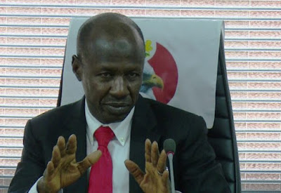 EFCC recovered ₦409b in eight months