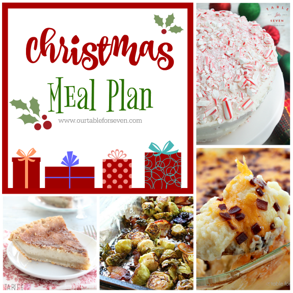 Meal Plan: Week 9 Christmas Edition