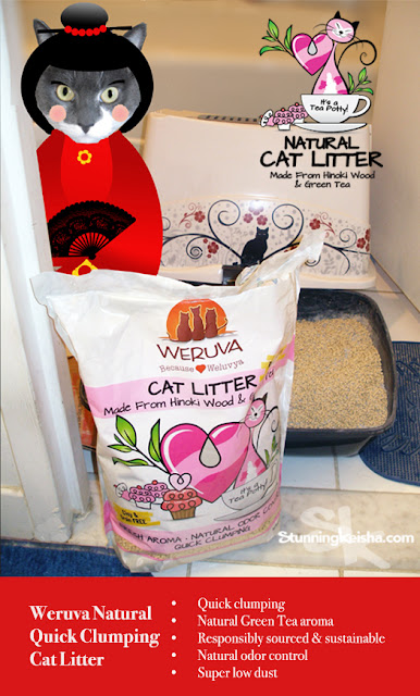 There's a New Revolution in Cat Litter! Join the  #CatTeaPotty! #sponsored