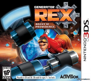Generator Rex: Agent of Providence, 3DS, Español