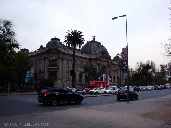 El Museo Nacional de Bellas Artes de Chile
