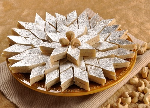 Kaju Ki Barfi (sweets) From Imperial Inn