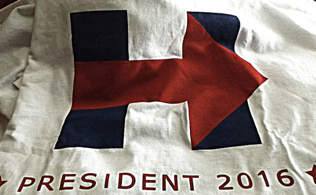 Product Review: Hilary Clinton 2016 Presidential Campaign Men's T-Shirt by AW Fashion
