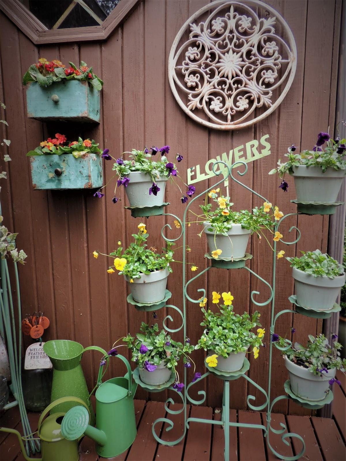 Beatrice Euphemie: Flowers on a Rainy Day