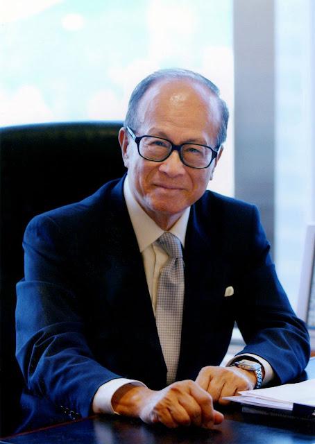Tỷ phú người Hồng Kông Lý Gia Thành (Li Ka-Shing)