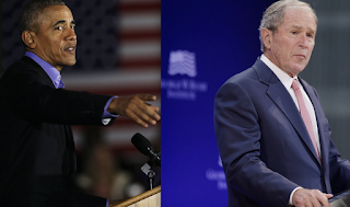 2 former presidents — from both parties — blast the state of American politics in unprecedented day