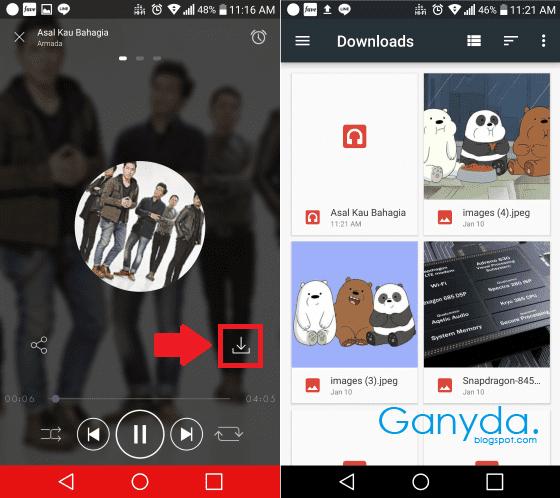 Cara Download Lagu Mp3 Gratis Di Hp Android Dengan Mudah Ganyda