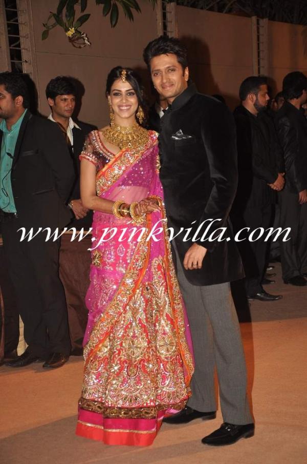 Bollywood Diary Riteish Deshmukh And Genelia Dsouza His