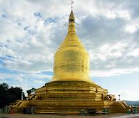 Lokananda Pagoda on the Irrawaddy