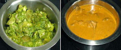 masala added and cooked