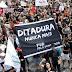 Milhares protestam contra ditadura militar neste 31 de março