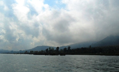 The beingness of smashing lakes of Bali render a broad impact on the surroundings BaliBeaches: The iv Great Lake In Bali