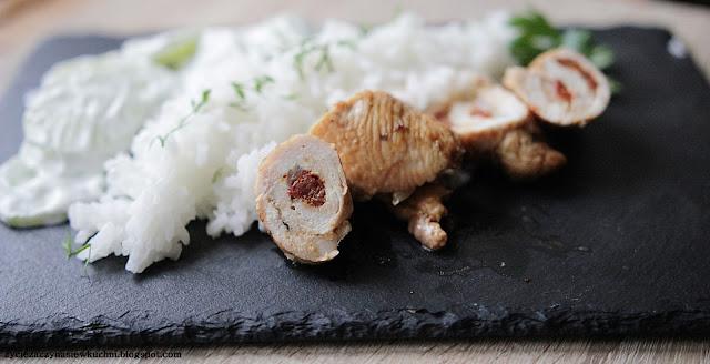 Polędwiczka z indyka w sosie balsamicznym