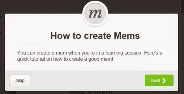 How to create a mem on Memrise