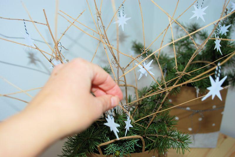 Centros de mesa navideños DIY fácil Hazlo tu mismo