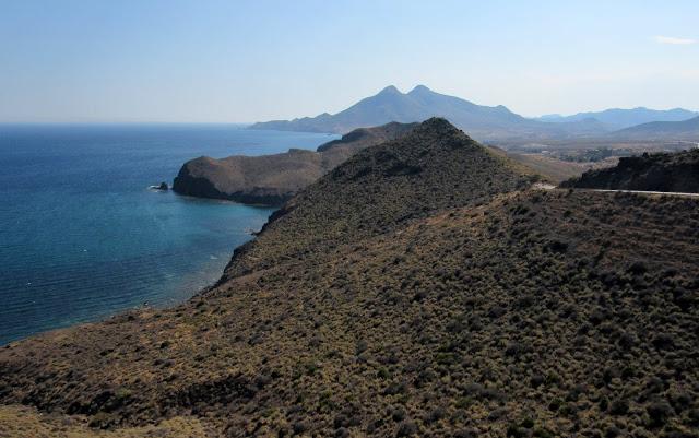 Vistas desde el mirador de la Amatista en Cabo de Gata