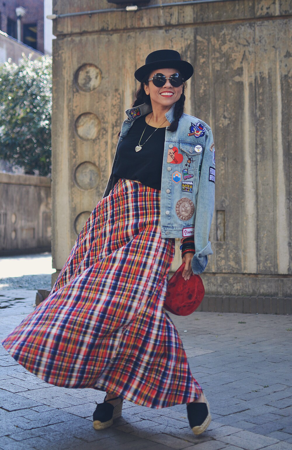 Eclectic outfit