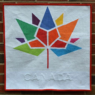 Quilt Inspiration: Free Pattern Day: Canadian Flag : canadian quilt - Adamdwight.com