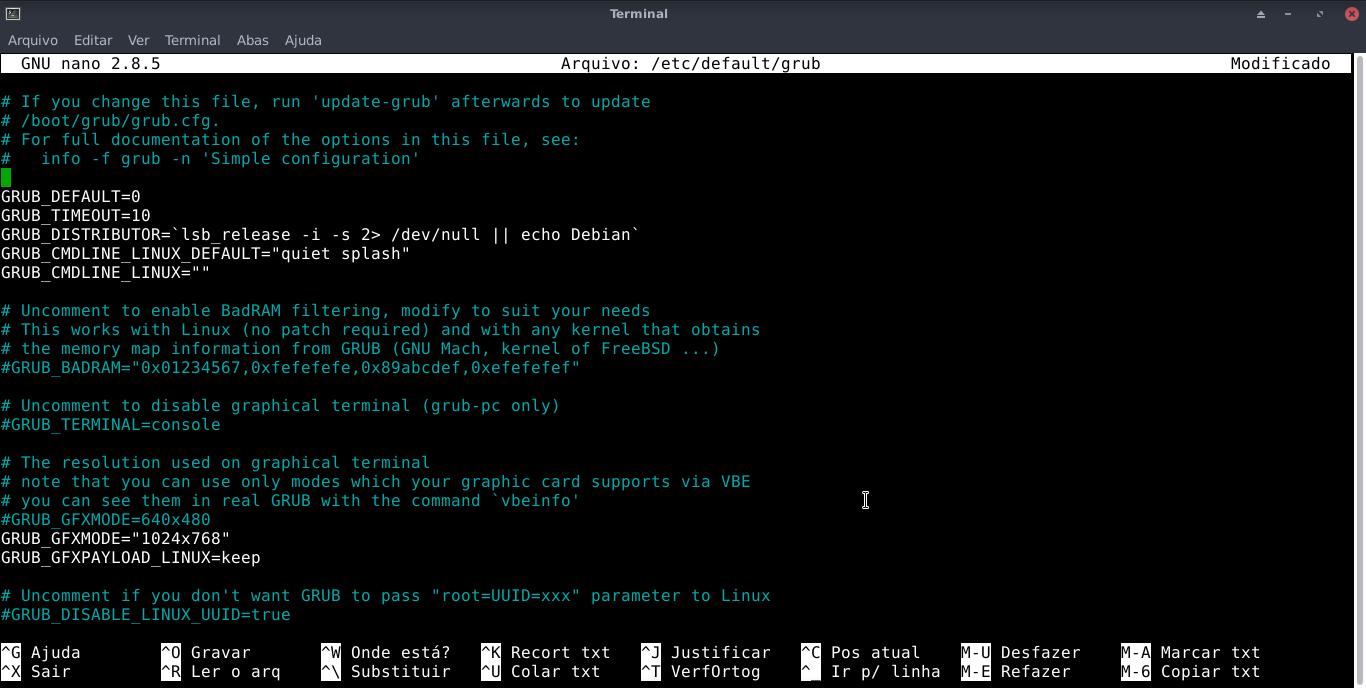 Linux dicas e suporte: Esconder o Grub no boot do seu GNU/Linux