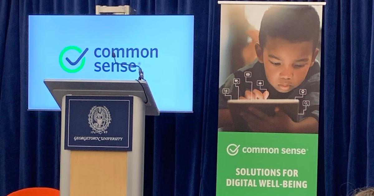 Green Team Gazette: Common Sense Media Digital Well-Being