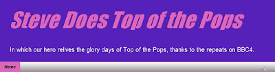 Steve Does Top of the Pops, logo