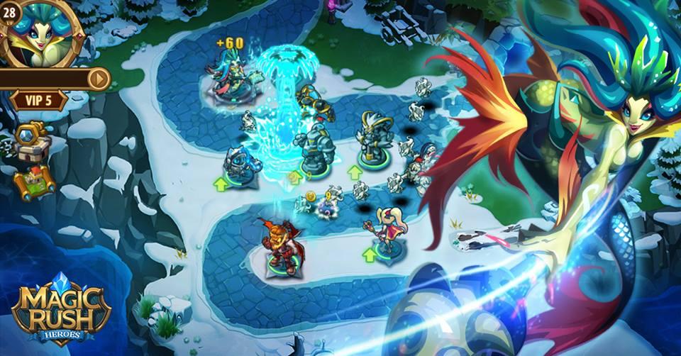 Magic Rush Heroes apk android, pc et ios