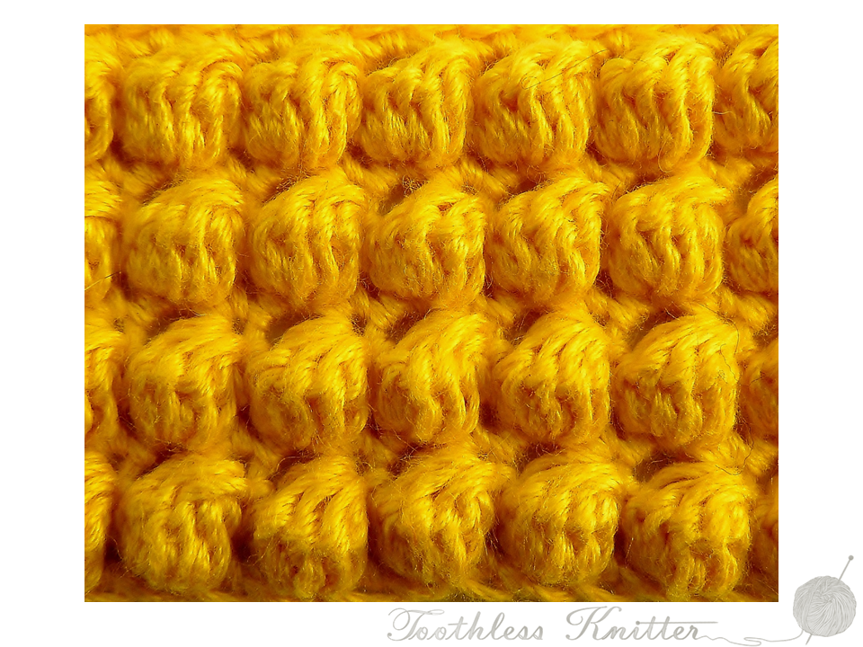 Textured Stitch: Bobble Stitch / Splot Ścisły: Bąbelki