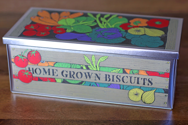 Biscuiteers Green Fingers biscuit tin - UK lifestyle blog