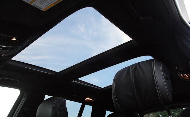 Mercedes AMG GLS 63 4MATIC 2019 trang bị Cửa sổ trời siêu rộng Panoramic