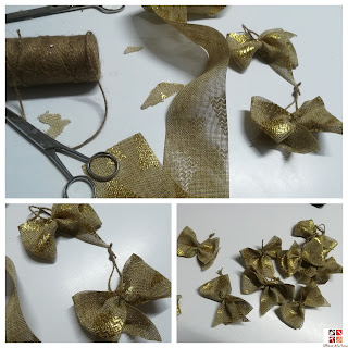lazos navideños