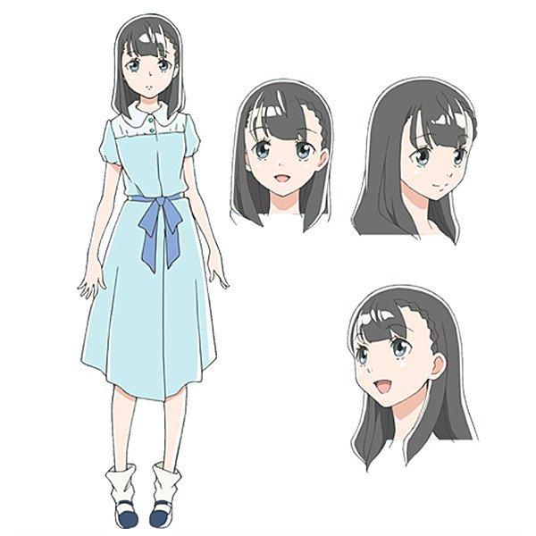 Saori Hayami como Yuzuki Shiraishi.