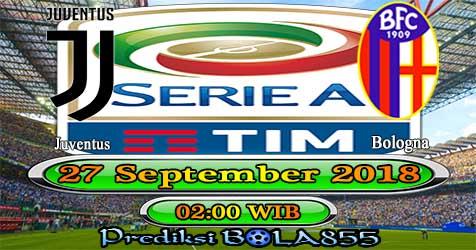 Prediksi Bola855 Juventus vs Bologna 27 September 2018