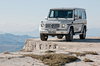 2012 New Mercedes G350 BlueTEC facelift upgrade refresh change generation official press media original 4x4