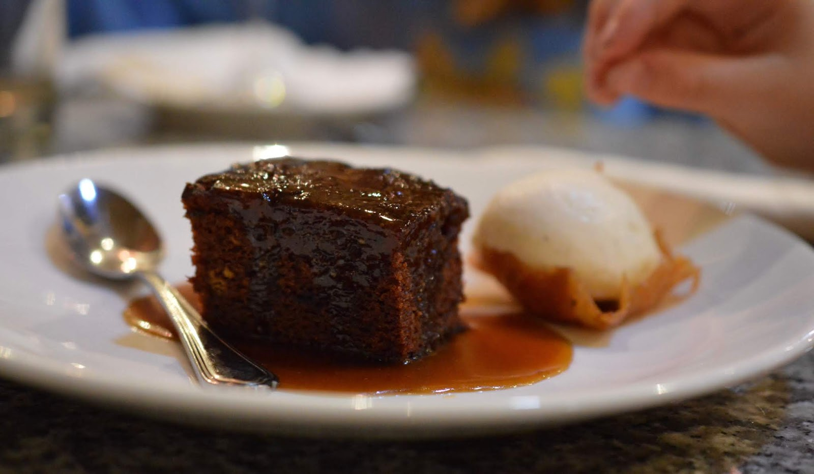 10 Reasons to Stay at Matfen Hall in Northumberland with Kids  - sticky toffee pudding