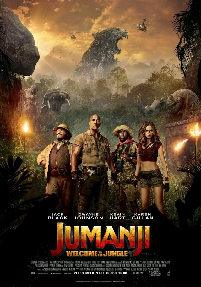 MOVIE REVIEW | JUMANJI: WELCOME TO THE JUNGLE 2017