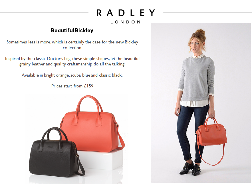 Introducing Radley S Doctor Bag The Bickley