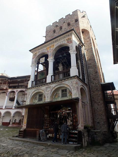 Torre del Monasterio de Rila, Bulgaria