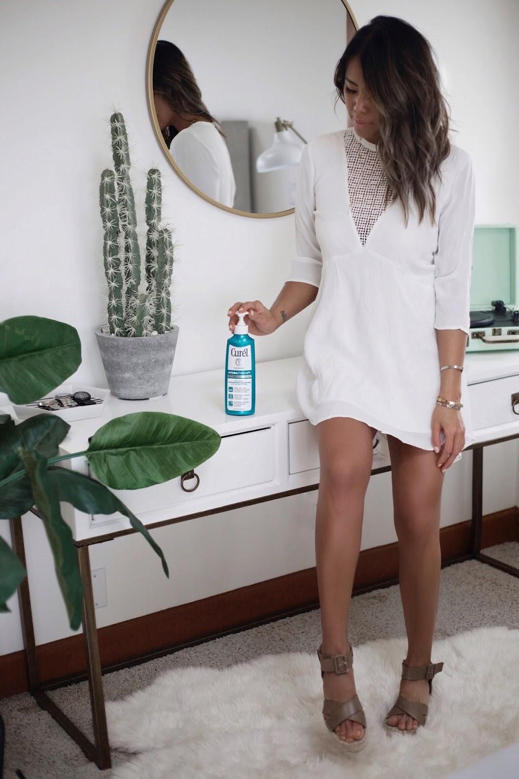 Curel Wet Skin Moisturizer review