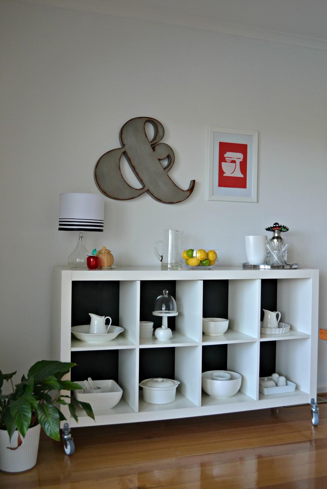 Ikea Hack Bookcase: IKEA HACK Expedit Sideboard Credenza
