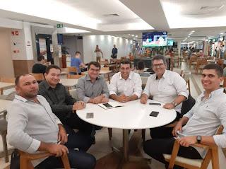 Prefeitos de Picuí e Cuité se reúne com Deputado Chió em João Pessoa