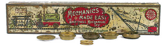 Mechanics Made Easy first outfit 1904 box - front