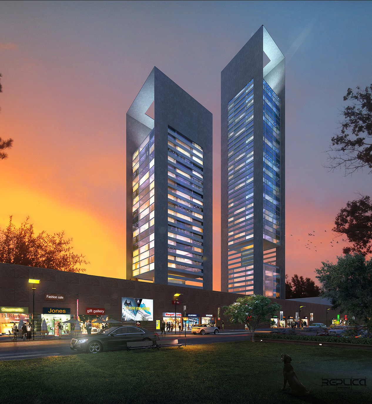 Replica virtuals pvt ltd 3d architectural visualization for Best architecture companies in india