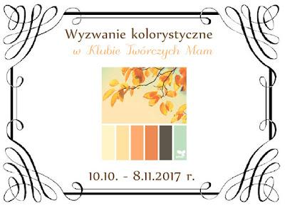 Październikowe wyzwanie kolorystyczne