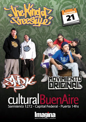 rap y hip hop , movimiento original , cultura buenaire,