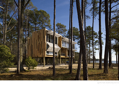 Prefabricated house, Taylors Island, Maryland
