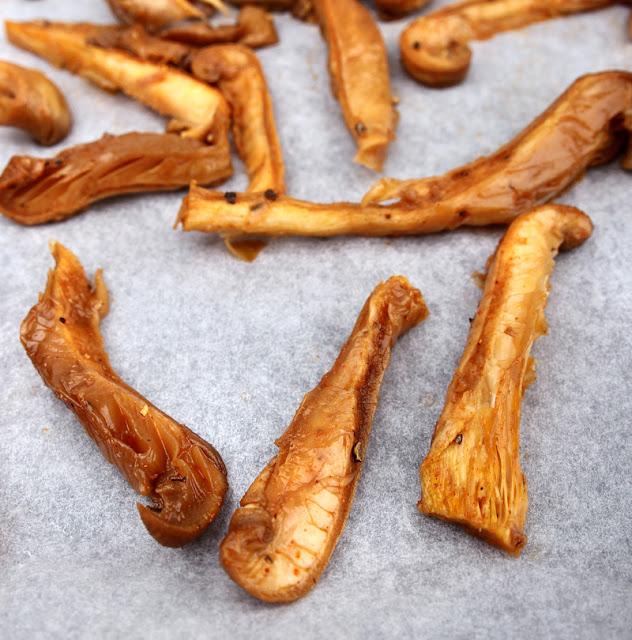 Oppskrift Vegansk Soppbacon Østerssopp Bacon Facon Kjøttfri Kremet Saus Uten Melk