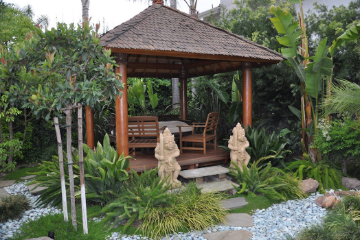 The Front Garden Design Minimalist and Exotic With ...