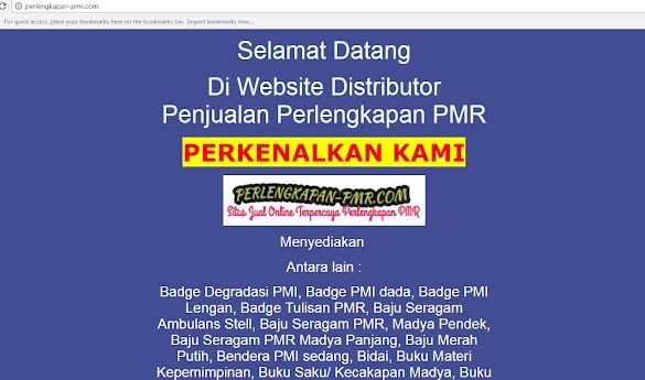 Toko Online yang Jual Alat alat PMR